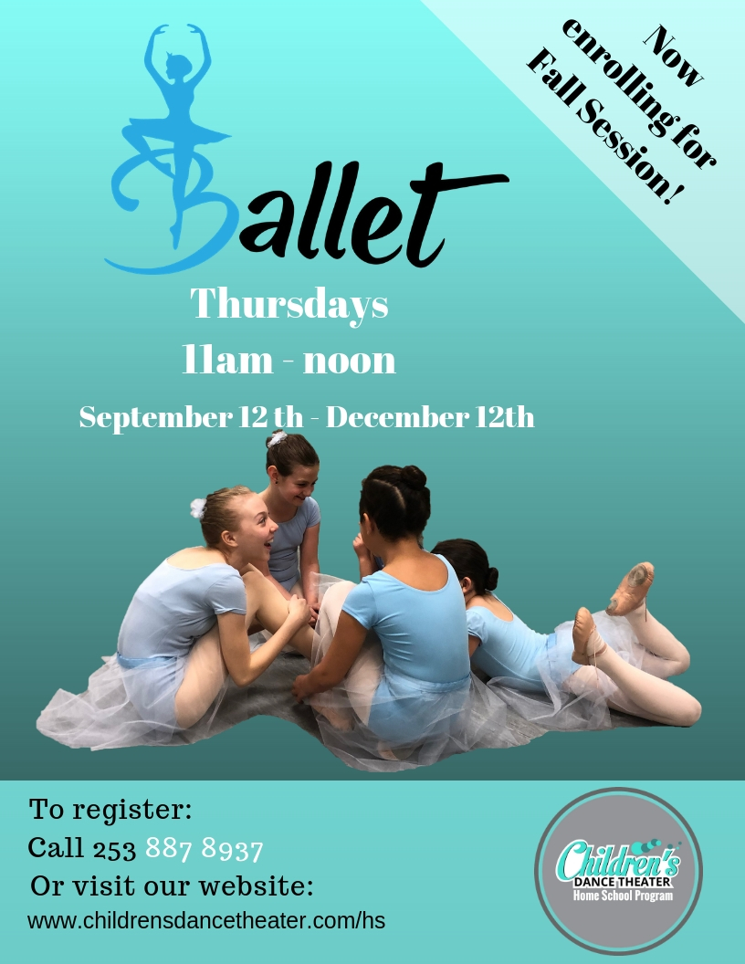 Fall 2019 ballet poster