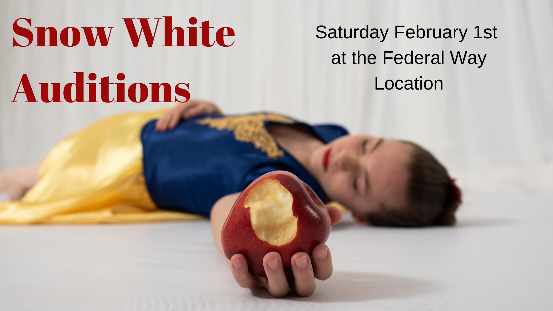 Snow White Auditions headder